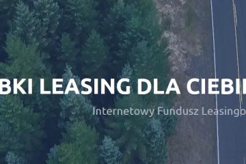 Internetowy Fundusz Leasingowy screen ze strony głównej