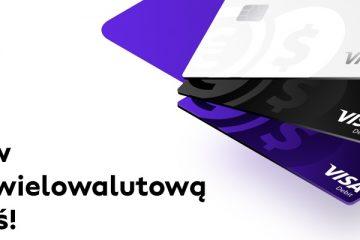 wielowalutowa karta płatnicza od cinkciarz.pl