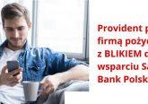 pożyczki z BLIK-iem w ofercie Providenta baner